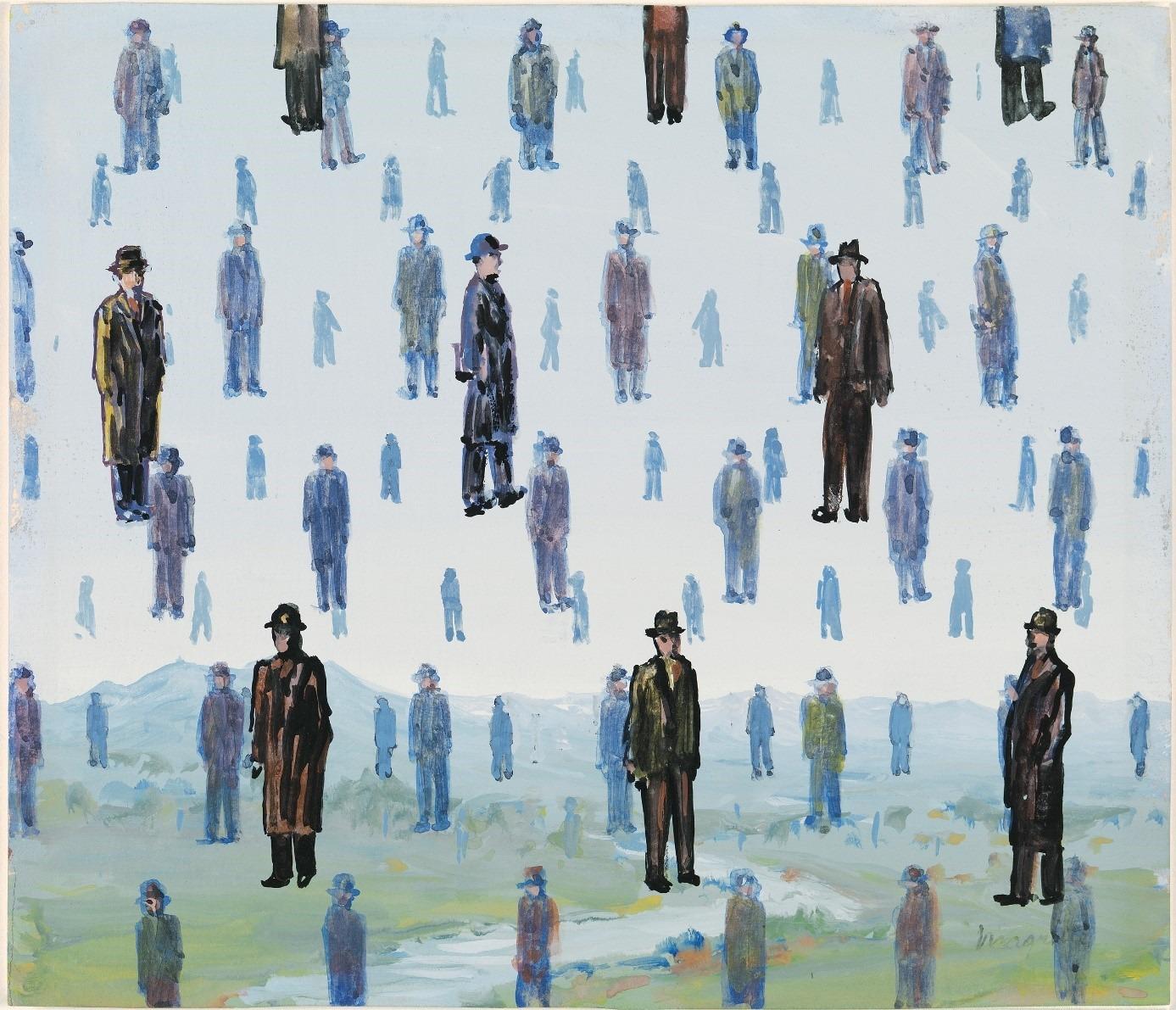 Lees de proloog en het eerste hoofdstuk van 'De zaak Magritte' van Toni Coppers