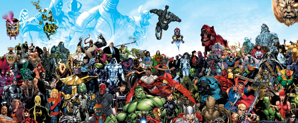 Alle Superhelden