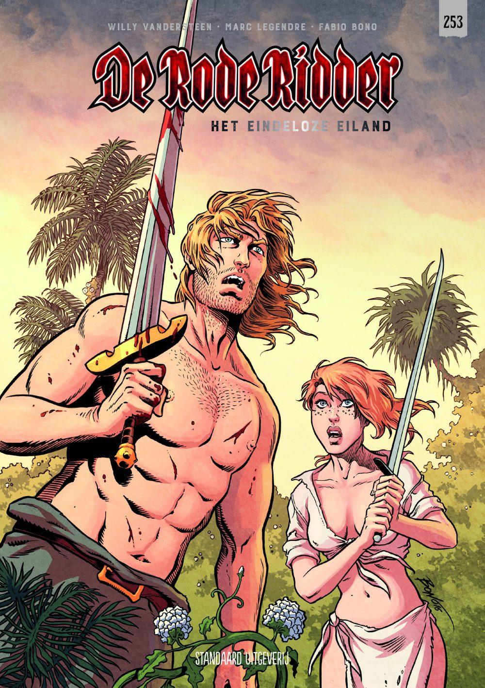 De rode ridder - Het eindeloze eiland