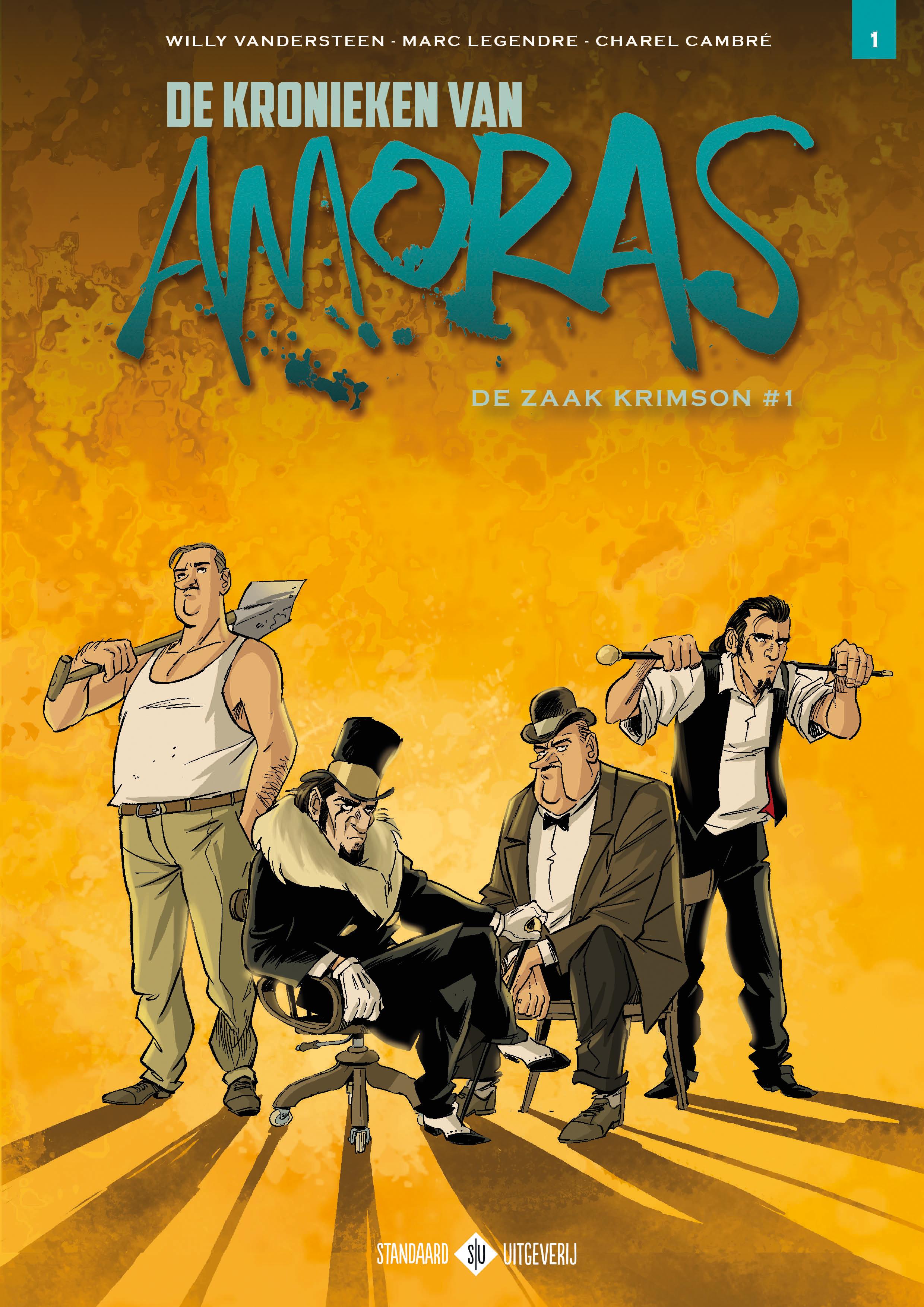 Amoras De Kronieken: de cover van album #1