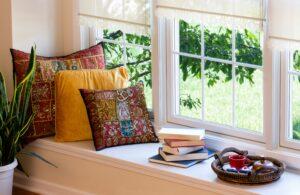 Lezen aan het raam