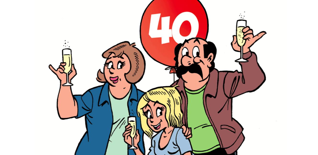 40 jaar de Kiekeboes… Dikke merci!