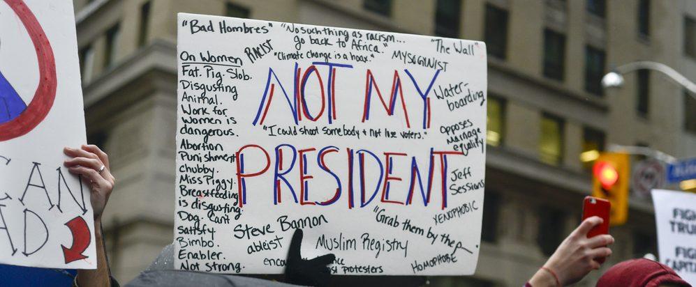 'Trump is totaal ongeschikt als president.'