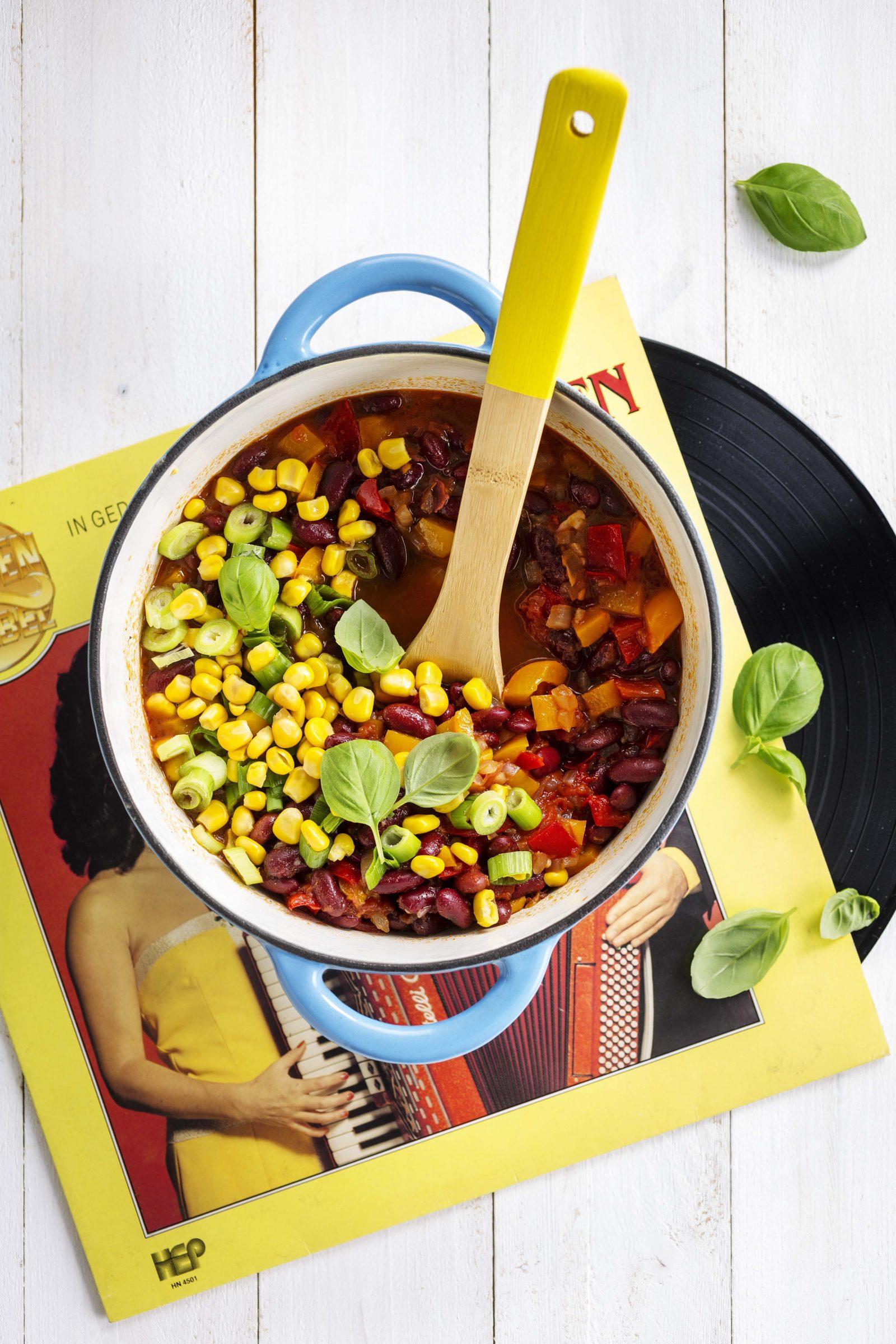 Dagen Zonder Vlees. Chili Healthy is Funky