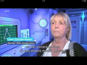 LeenVDS in Comic Station VRT