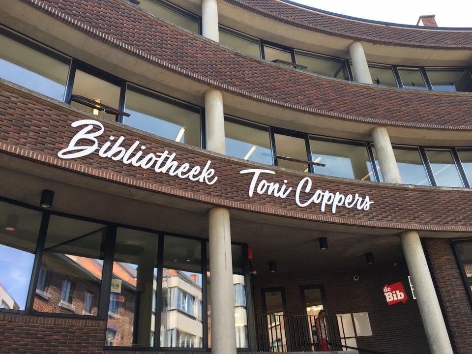 Nieuwe bibliotheek van Sint-Truiden genoemd naar Toni Coppers