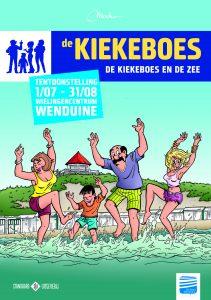 Affiche de Kiekeboes en de zee