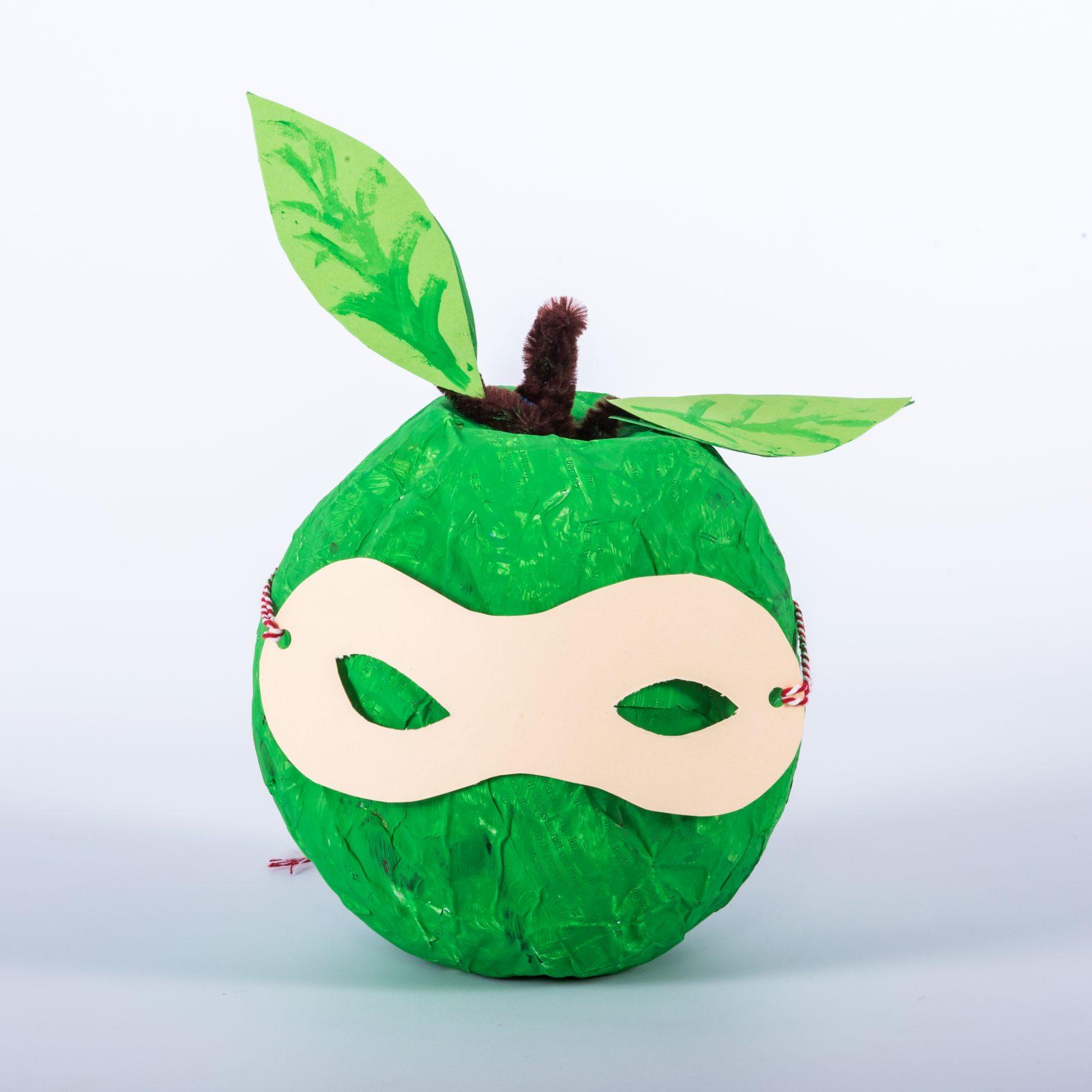 Anti-vervelingsplan: gemaskerde appel