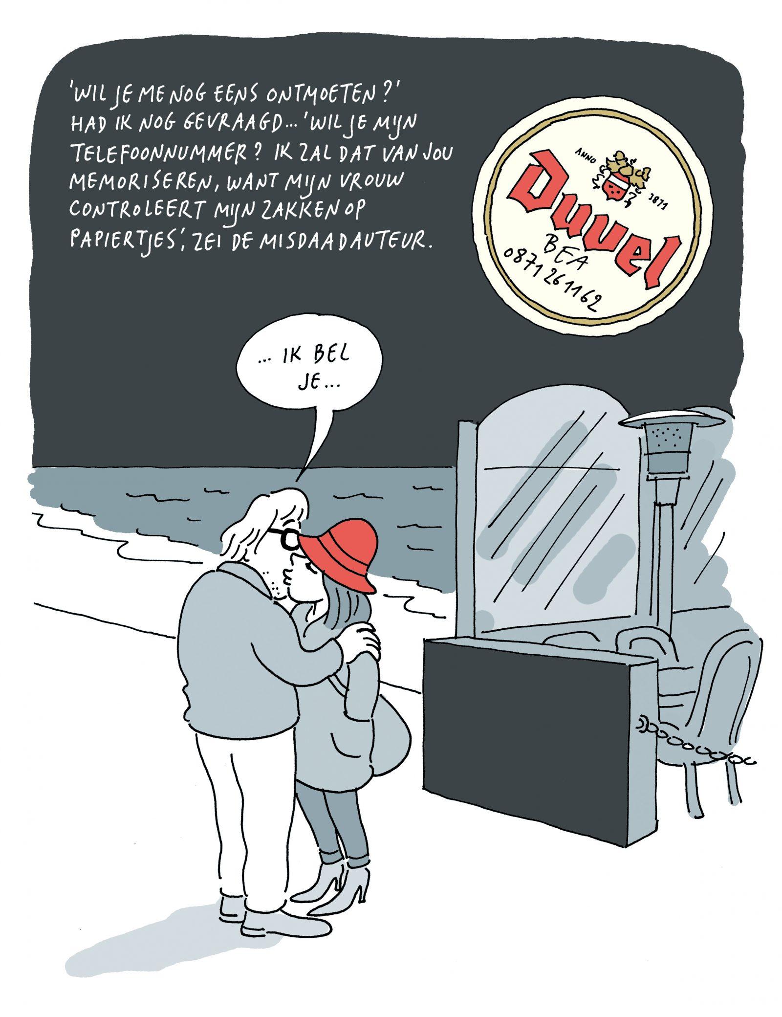 [FRAGMENT] 'Afscheid van een muze'. Een beeldend liefdesverhaal van Pieter Aspe en Marec