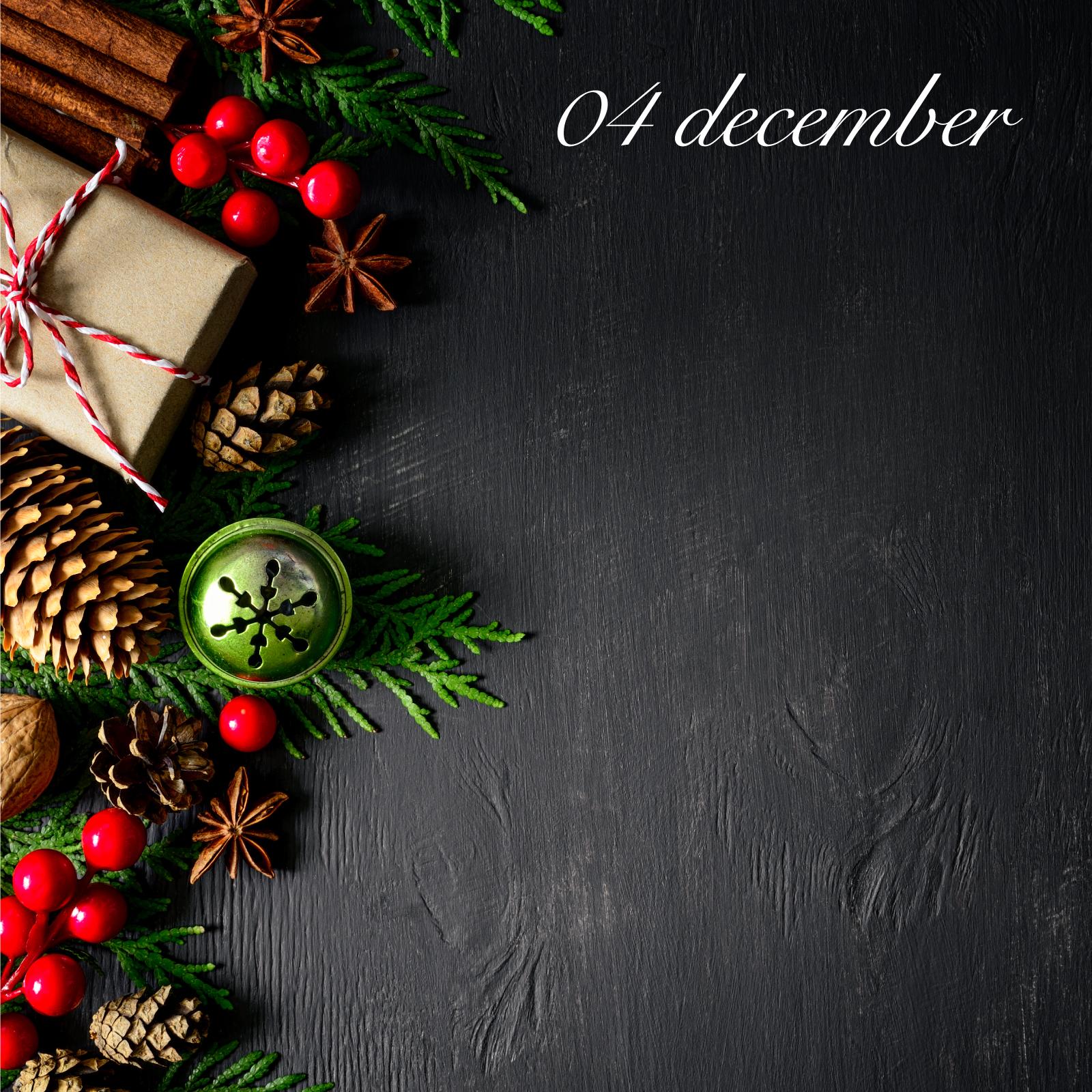 4 december