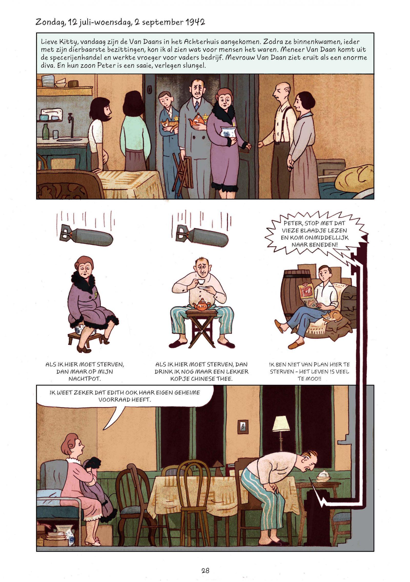 Pagina's van Frank-Het achterhuis_Graphic Novel 2e druk-4