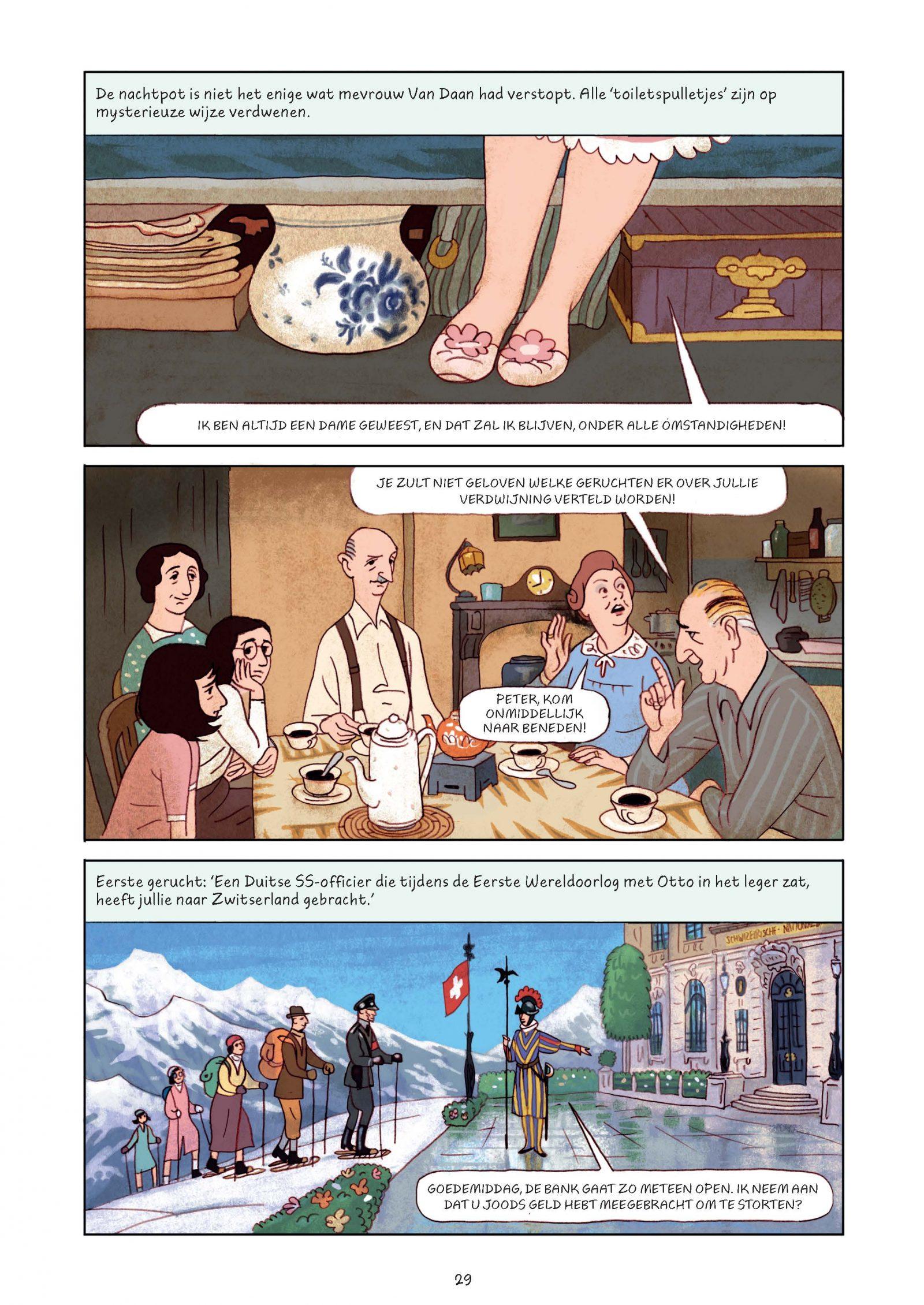 Pagina's van Frank-Het achterhuis_Graphic Novel 2e druk-5