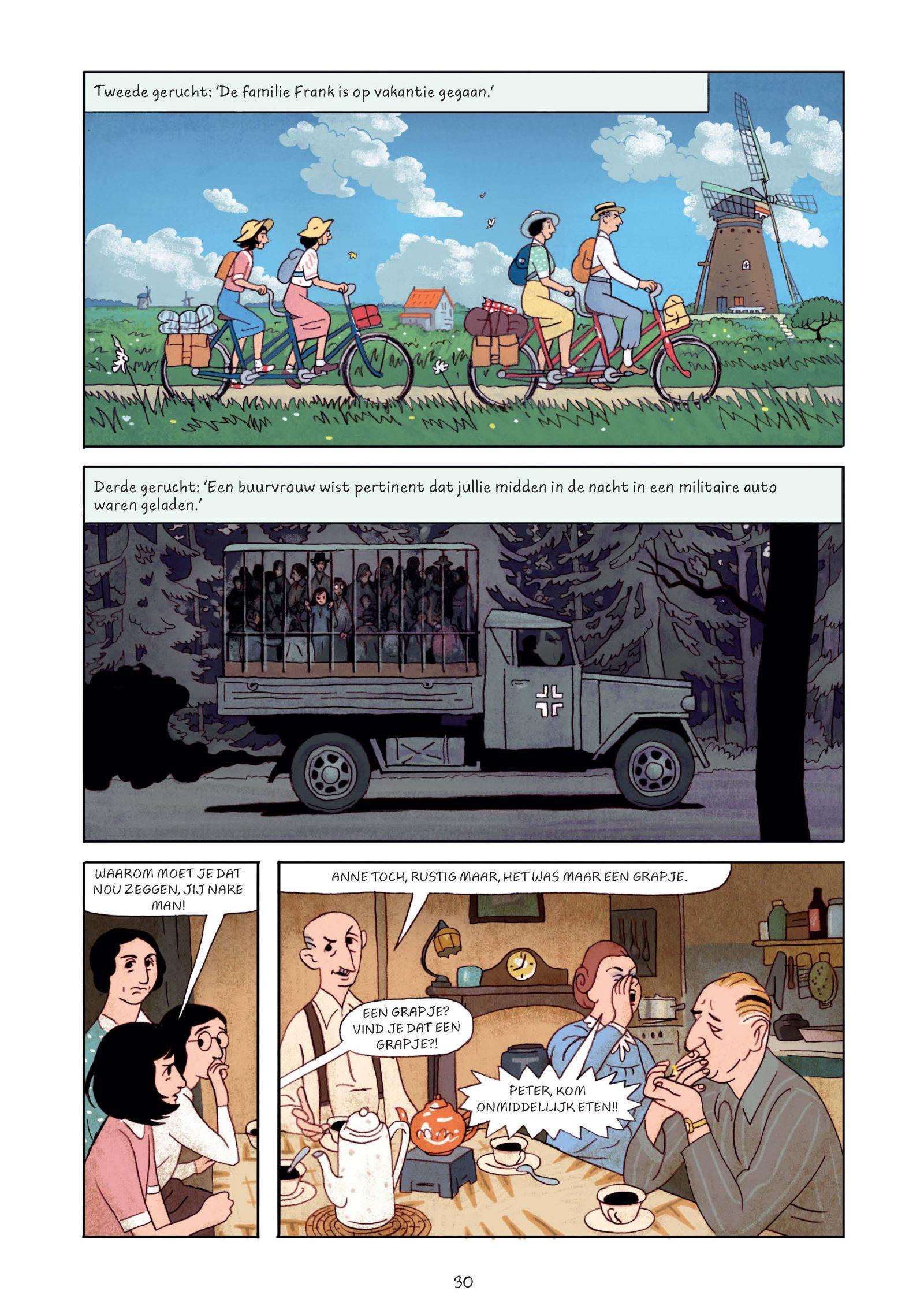 Pagina's van Frank-Het achterhuis_Graphic Novel 2e druk-6