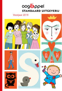 Cover van de aanbiedingsfolder van Oogappel voorjaar 2019